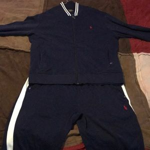 Polo track suit